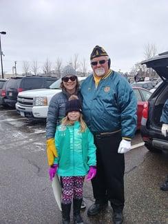 Veterans Day Parade Troop 729