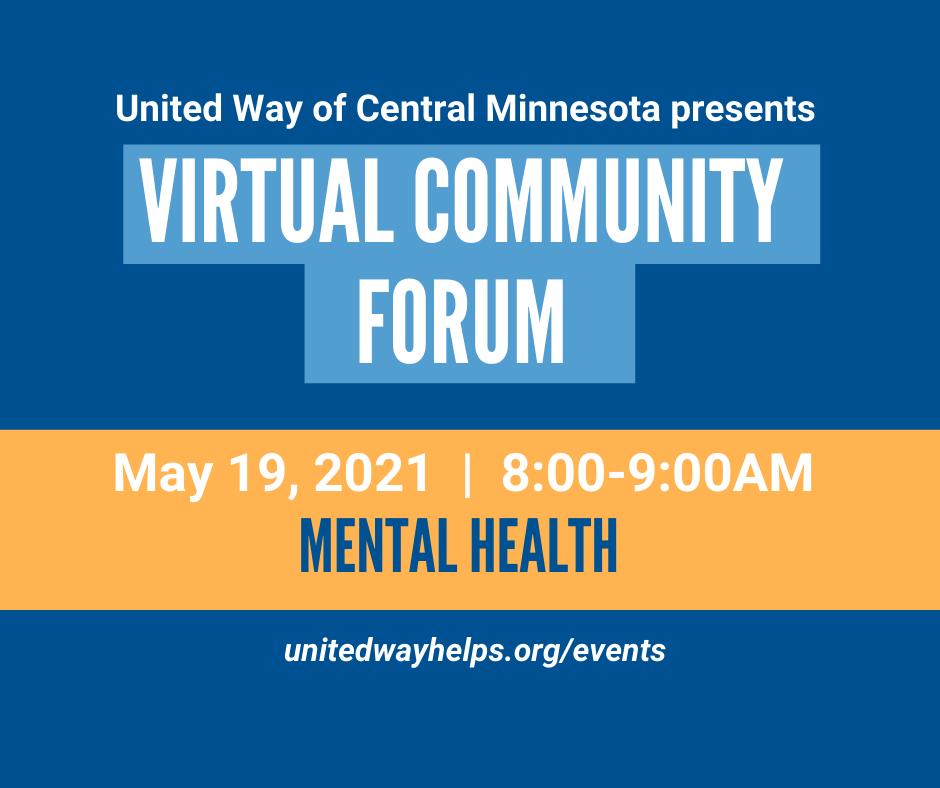 Community Forum #4: Mental Health