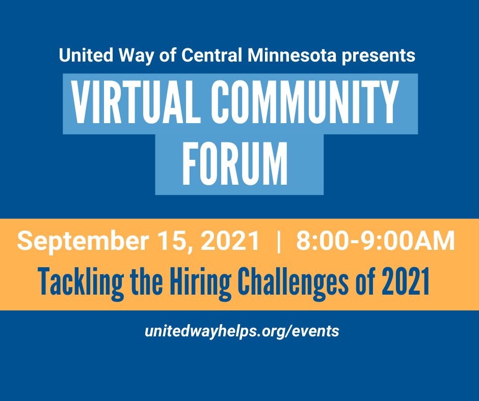 """Community Forum #5:""""Tackling the Hiring Challenges of 2021"""""""