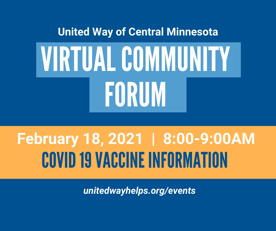 Community Forum #3: COVID-19 Vaccine Information
