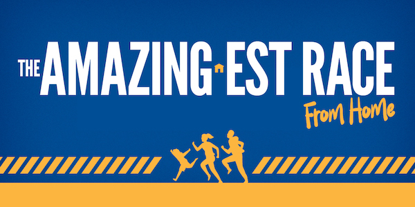 United Way's Amazing-est Race (from home)